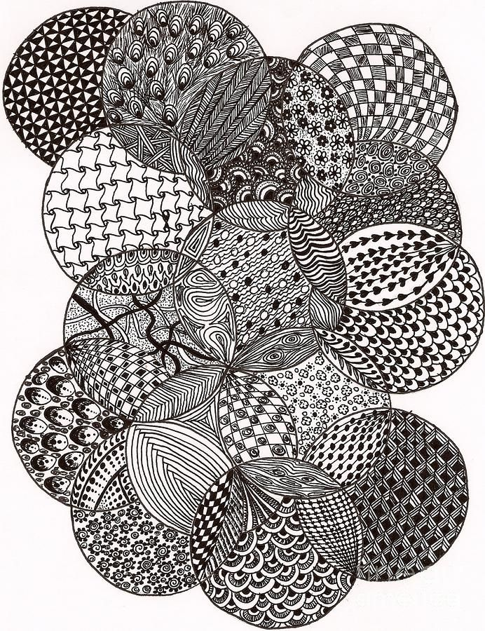 Circles By Bharti Gupta Circle Drawing Zentangle Drawings Doodle Art Designs