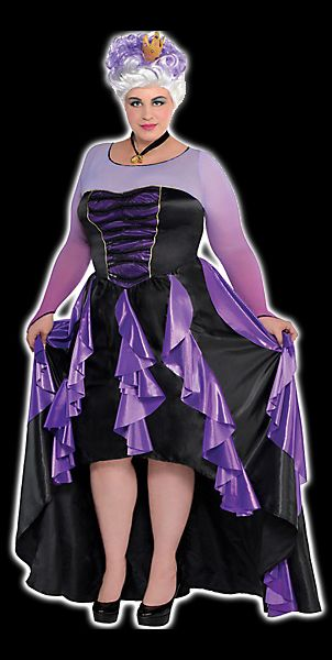 ursula costume -- it's about time! this is awesome! poor