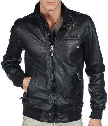 15a27a37ddd Мужская кожаная куртка Diesel 2012