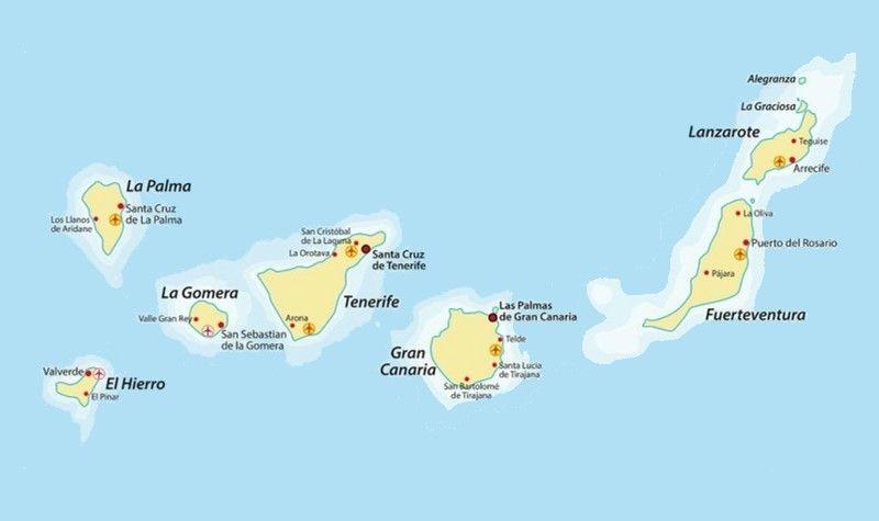 Voyager Entre Les Iles Canaries Informations Et Conseils Iles