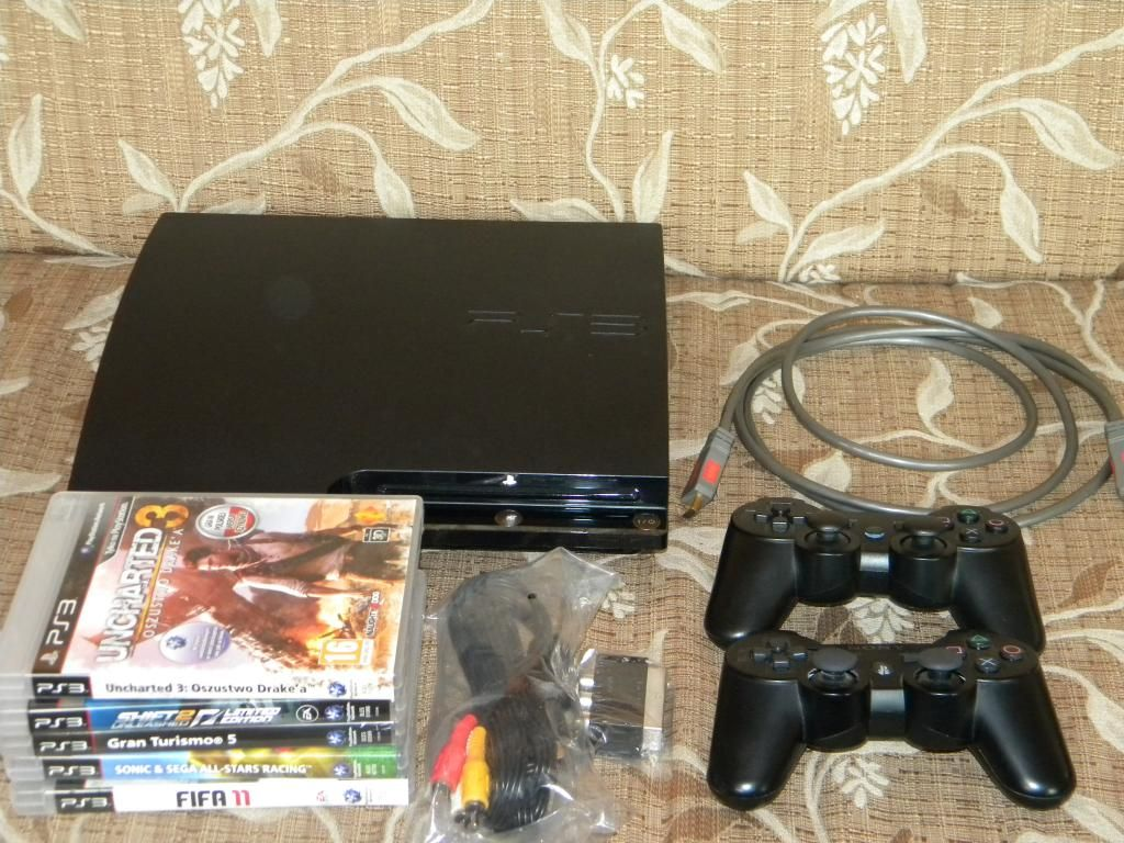 Playstation 3 250gb Ps3 2 Pady Kabel Hdmi 5 Gier 3233285115 Oficjalne Archiwum Allegro Playstation Hdmi Dyson