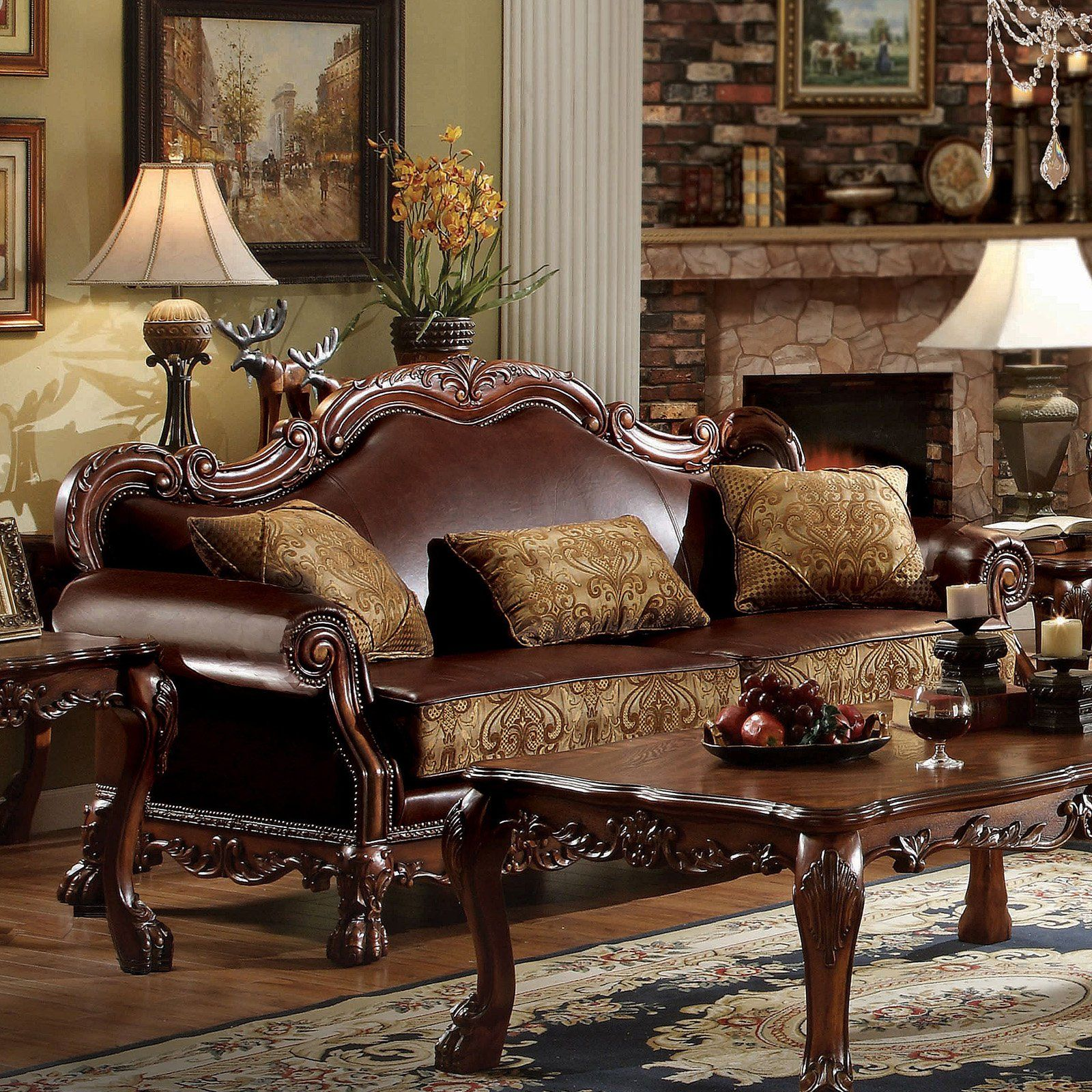 Pleasant Acme Furniture Dresden Sofa With 3 Pillows In 2019 Machost Co Dining Chair Design Ideas Machostcouk
