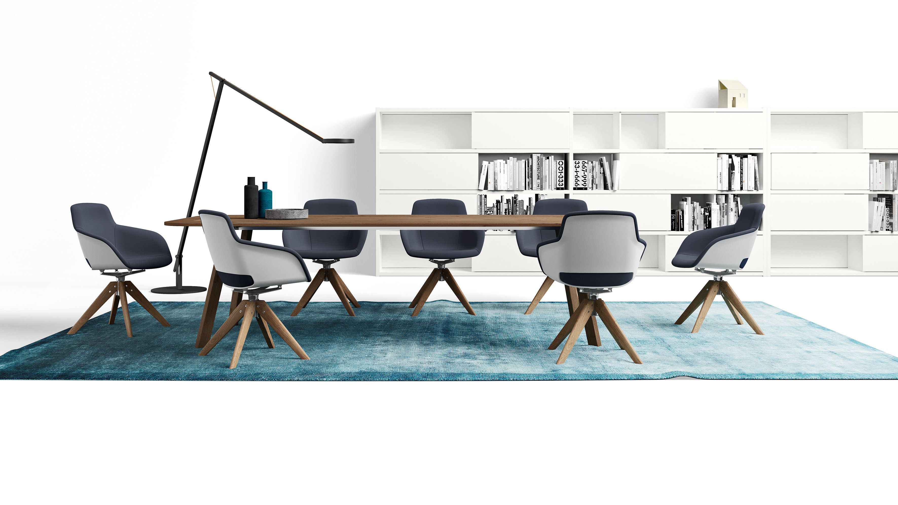 Sinetica Office Seating Table Interior