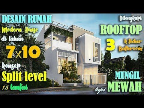 desain rumah 1 5 lantai 3 kamar