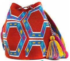 Magnifique sac crocheté Wayuu