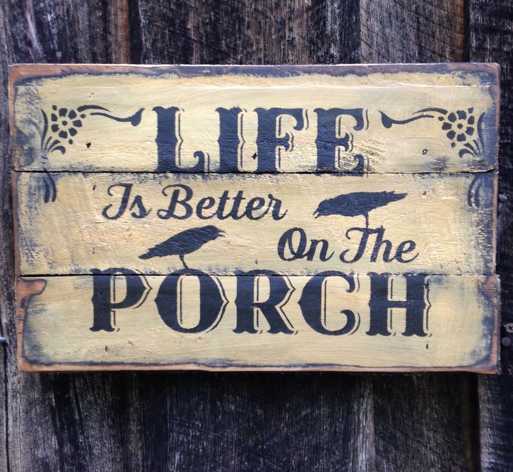 Hand Made !!! Primitive Sign-Primitive Rustic Country Home