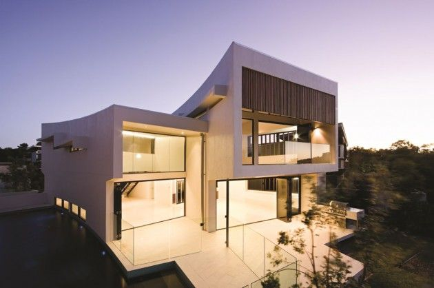 BVN Architecture have designed the Elysium 154 House in Noosa