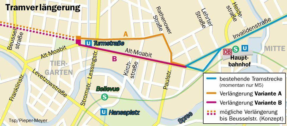 Erweiterungspotenzial Der Berliner Bahnnetze Wo Sind