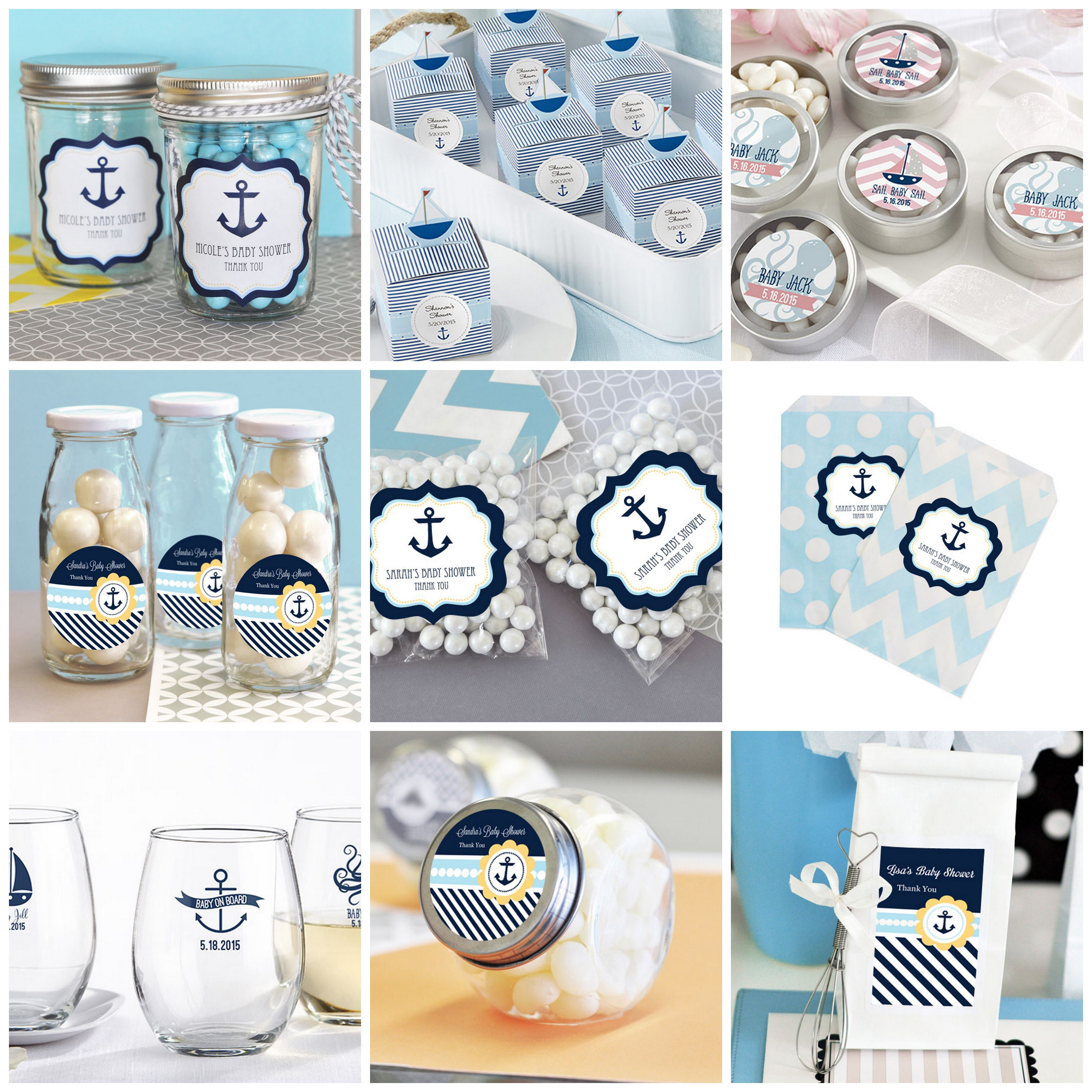 nautical baby shower party favors from hotrefcom nautical babyshower
