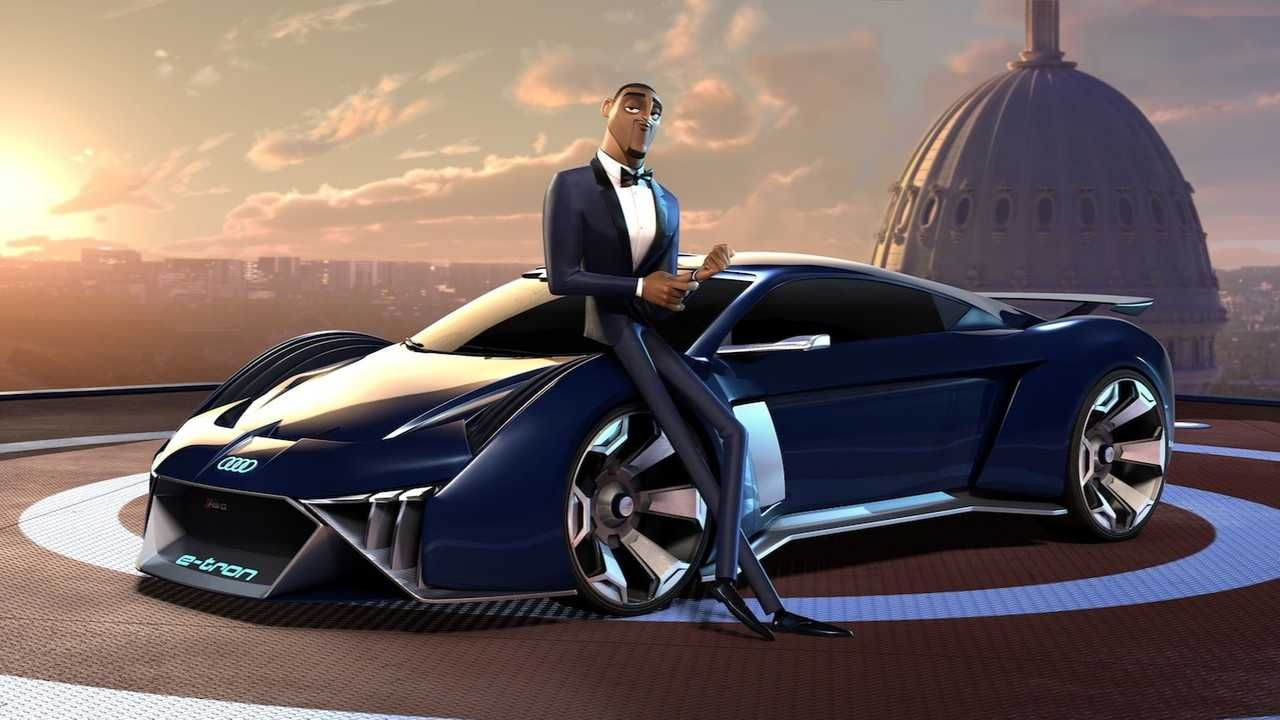 Audi Gets Animated Imagines Electric Spy Car For Will Smith E Tron Blue Sky Studios Super Cars