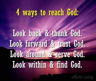 to reach God