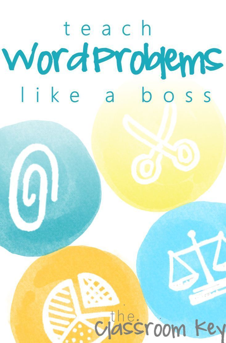How to Teach Difficult Word Problems Like a Boss | Math, Students ...