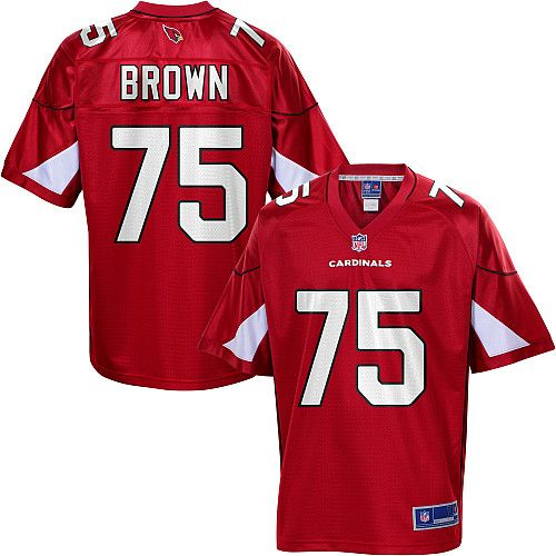 Men S Pro Line Arizona Cardinals Levi Brown Team Color Jersey Nfl Outfits Cardinals Football All Nfl Teams