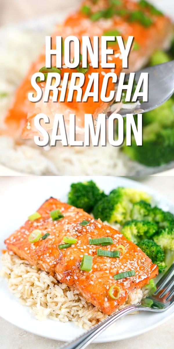 Honey Sriracha Salmon images