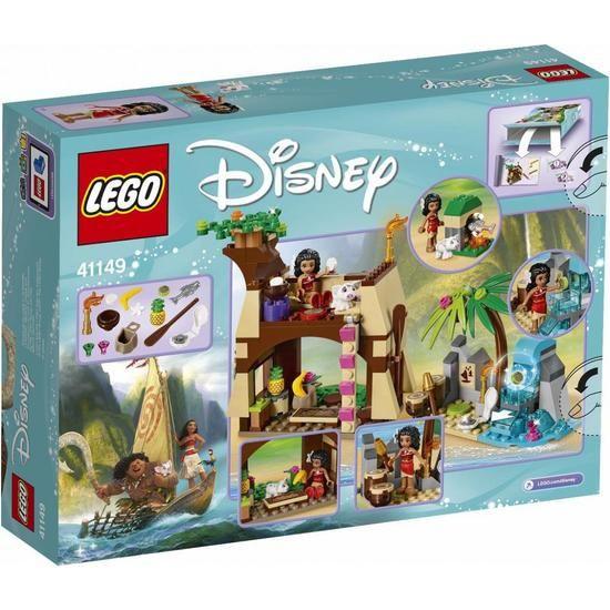 LEGO Disney Princess 41149 Moana's Island Adventure | Legos ...
