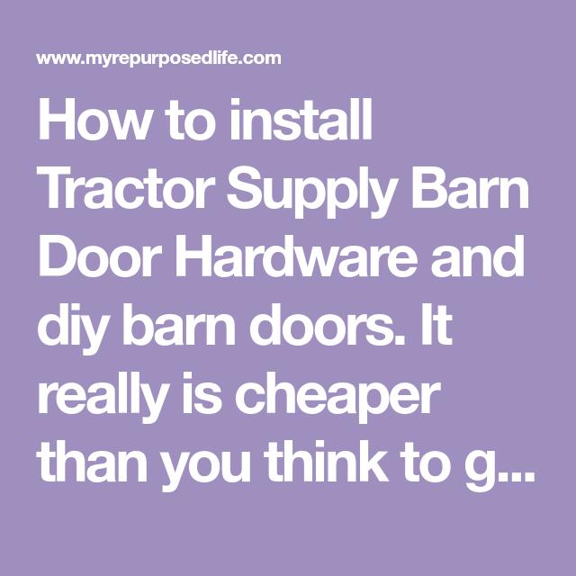 Tractor Supply Barn Door Hardware | Barn door hardware ...