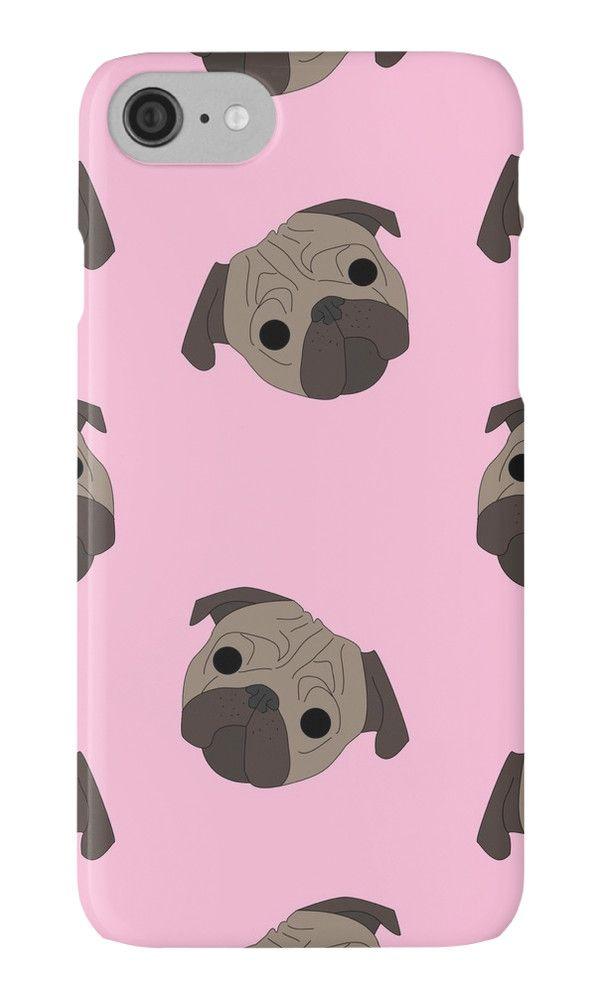 Pug Life Pug Pattern iphone case
