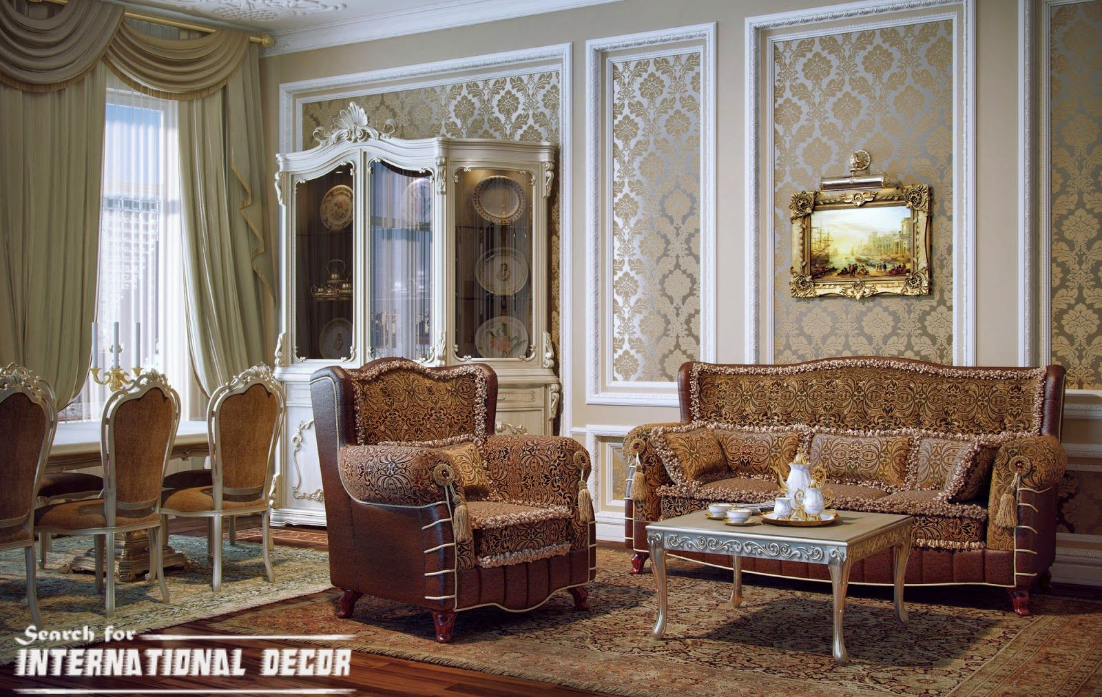 Charming How To Create A Real Classic Interior Design ?