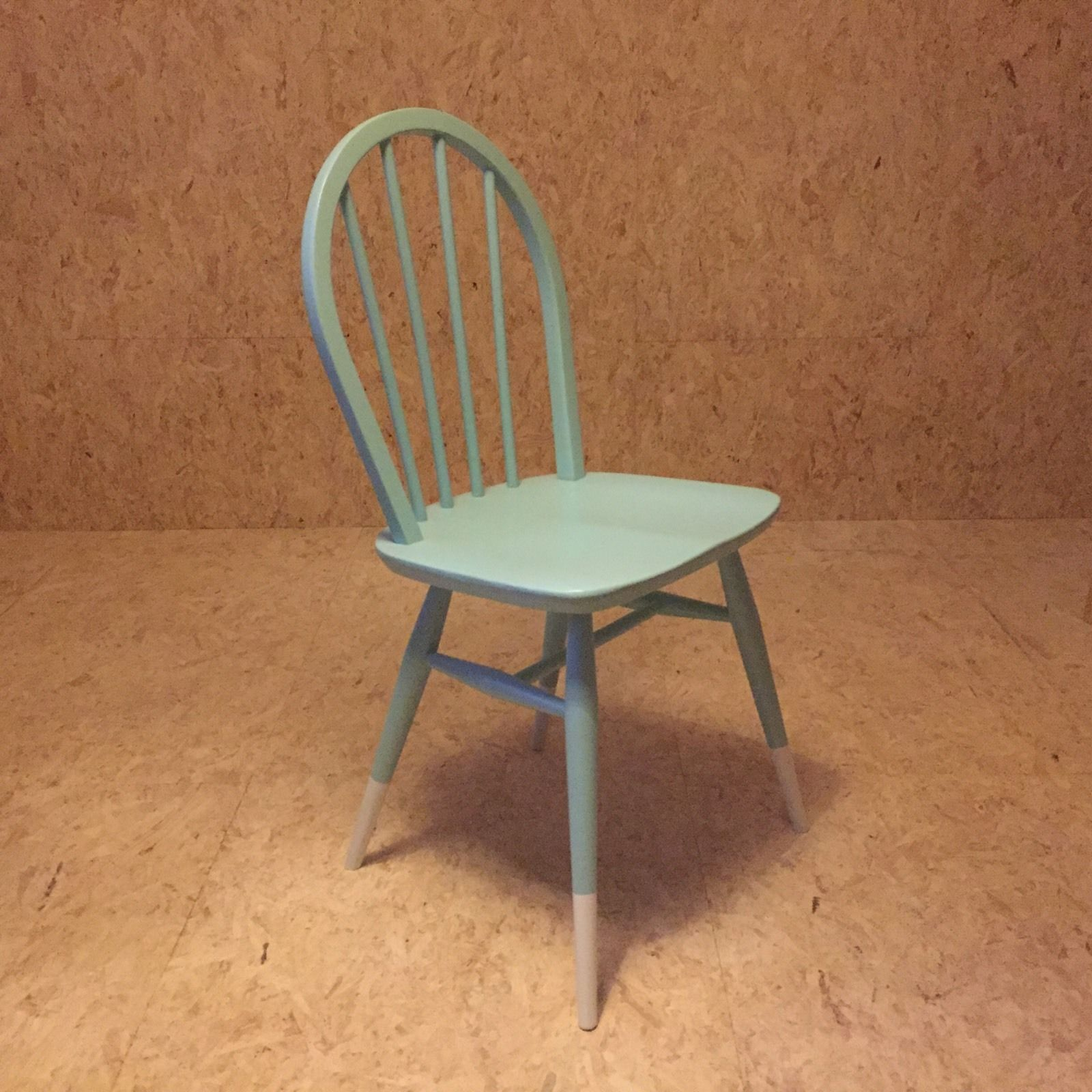 Vintage retro ercol drop leaf round dining kitchen table ebay - Ercol Dip Leg Painted Windsor Dining Chair Upcycled