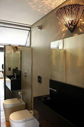 Arqteturas: Luminárias e banheiros