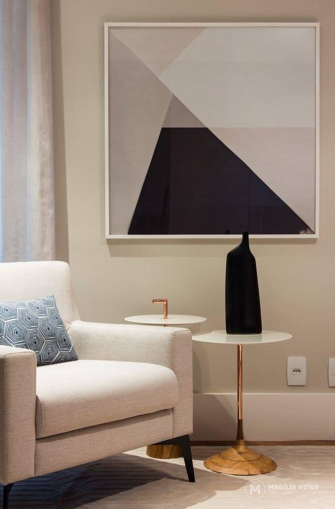 Quadro minimalista - sala de estar