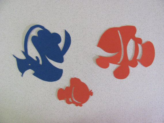 Finding Nemo Inspired Silhouette For A Nursery Or Childs