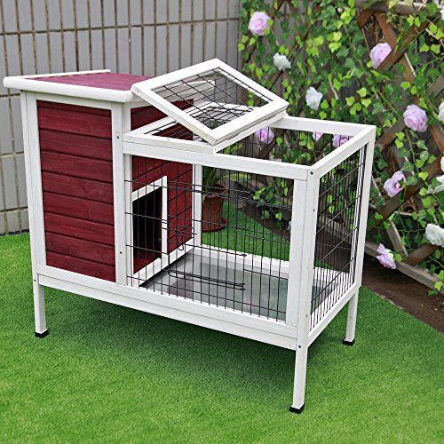 50 free diy rabbit hutch plans ideas to get you started for Design indoor rabbit cages