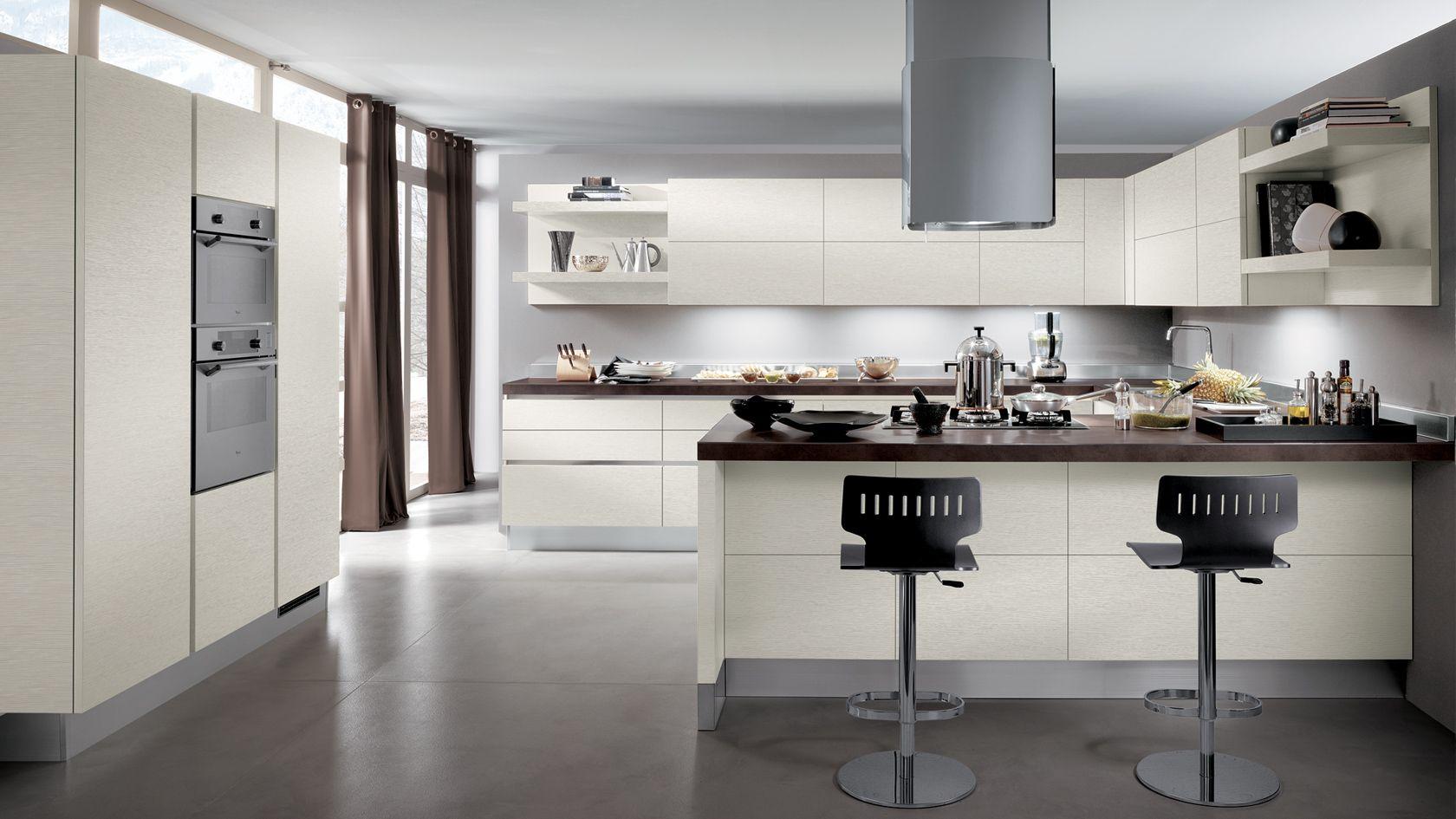 Cucina contemporanea Scenery | Sito ufficiale Scavolini | Una ...