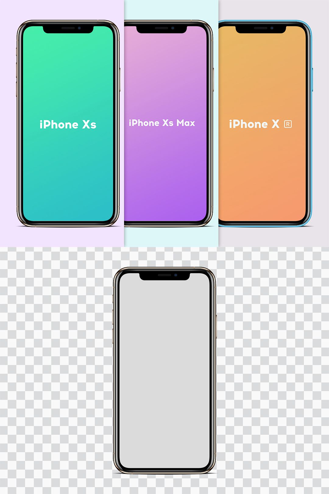 Free Mockup Set Iphone Xs Xs Max Xr Iphone Iphone Psd Free Mockup
