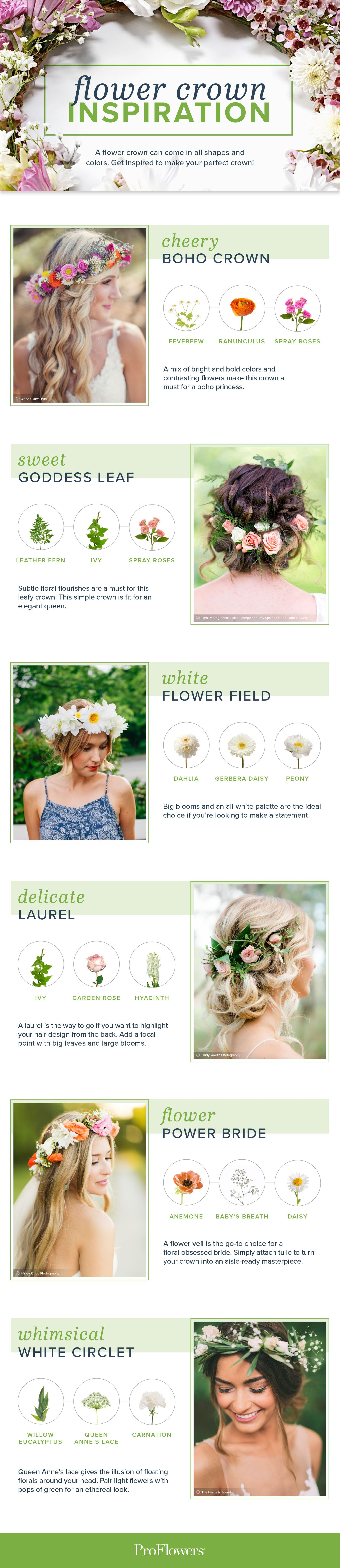 How To Make A Flower Crown In 4 Easy Steps Flower Crowns Crown