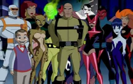 The Injustice League By Bruce Timm Justice League Villain Justice League Animated Superhero Comic