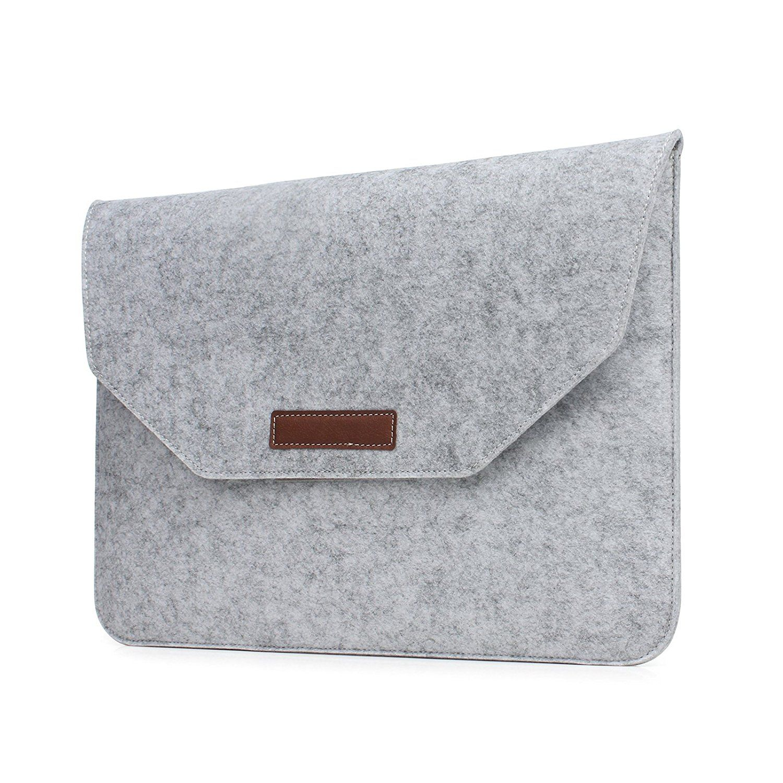 b21bb55d1196 UCMDA 13 - 13.3 inch Laptop Sleeve Bag - Soft Felt Protective ...