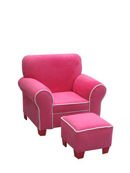Superieur Club Chair With Ottoman Set