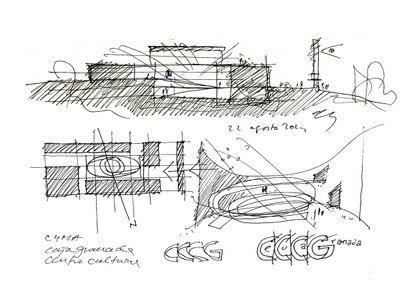 The MA Andalucia Museum Of Memory Alberto Campo Baeza PlusMOOD Sketch 1