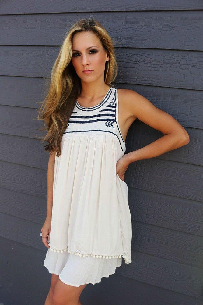 Racerback Lace Dress