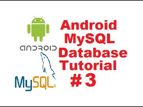 Android MySQL Database Tutorial 3 - Connecting Android App to Online
