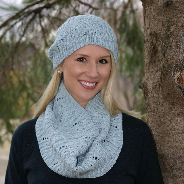 Emerge Cowl pattern by Julie Hart | Knit in the round ...