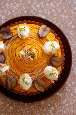 「秋香るパンプキンタルト」あいりおー   お菓子・パンのレシピや作り方【corecle*コレクル】