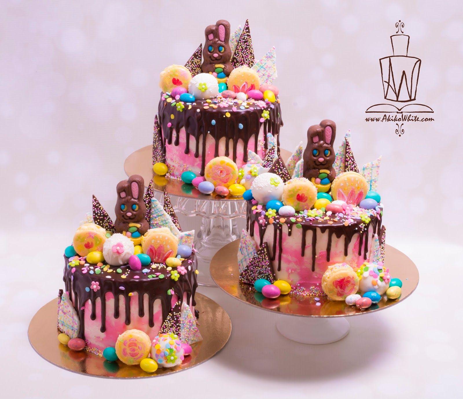 Decorated Mud Cake Birthday