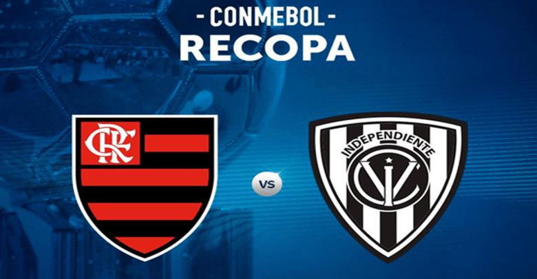 Recopa ao vivo Assistir Flamengo vs Independiente del