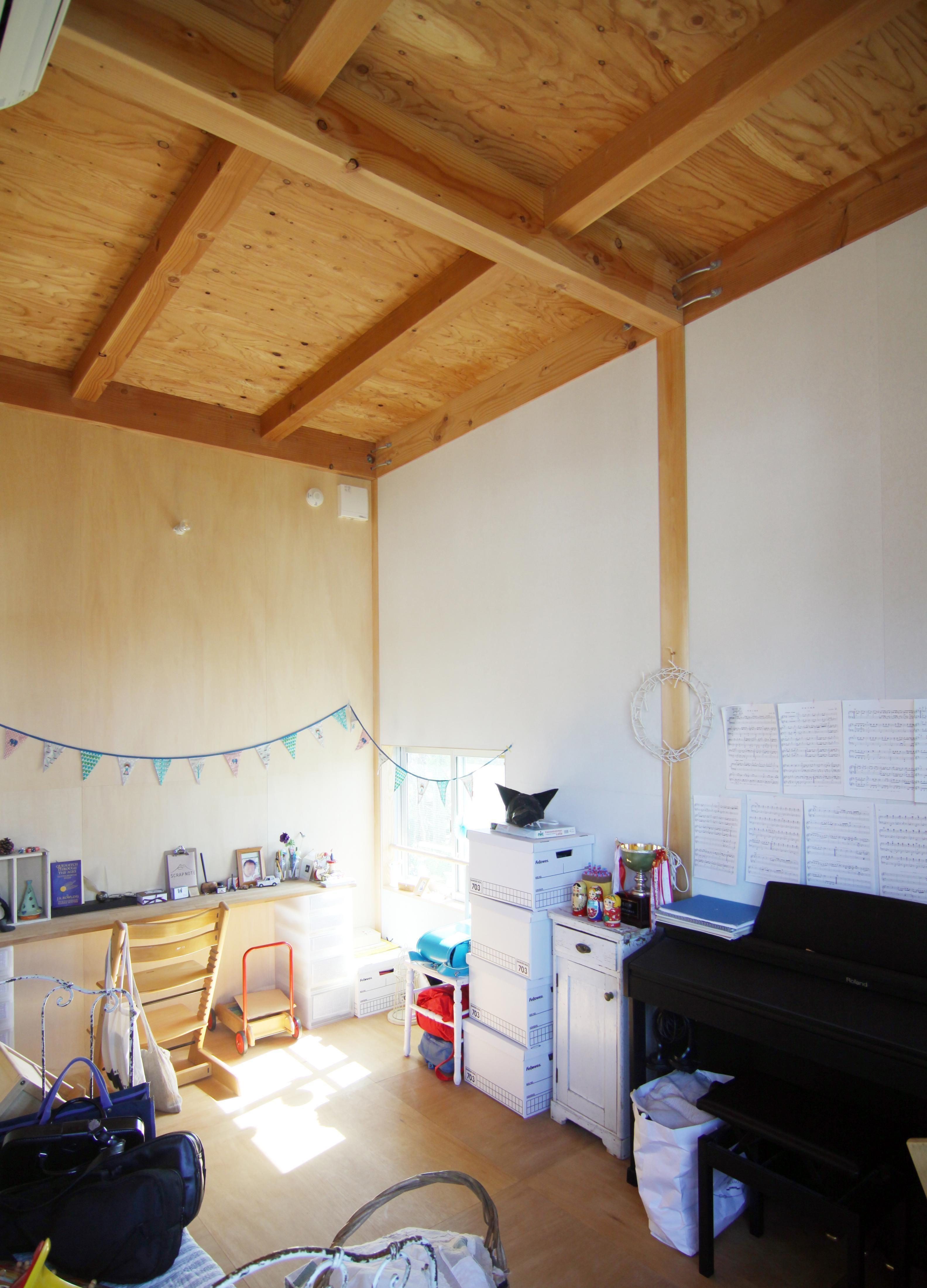 子ども室 木造の家 子供部屋事例 Suvaco スバコ 木造の家 家 木造