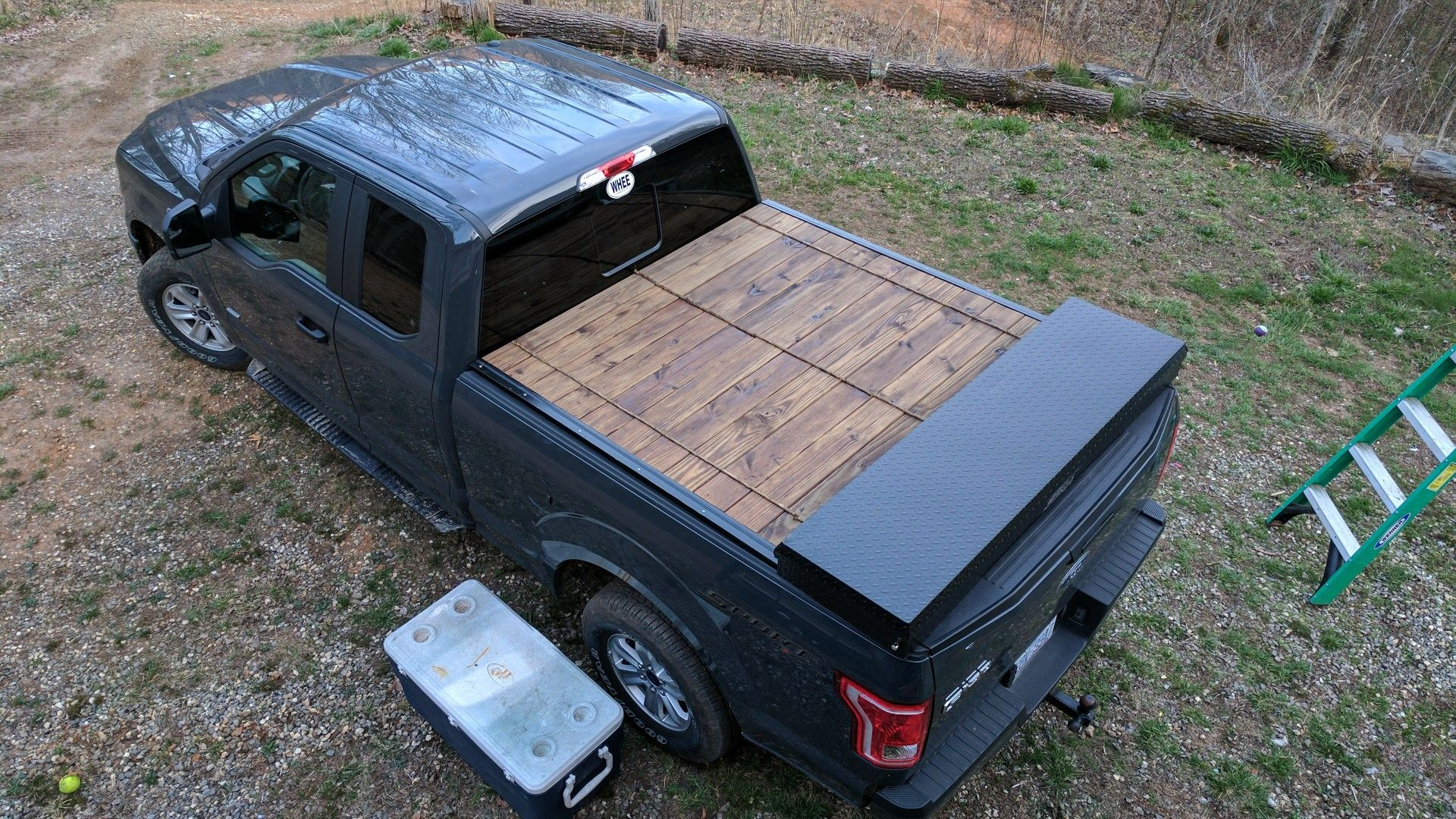 Wooden roll back tonneau (With images) Truck covers