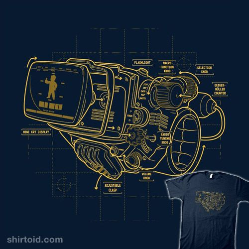 Blueprint mark iv fallout game fallout and pip boy blueprint mark iv malvernweather Gallery