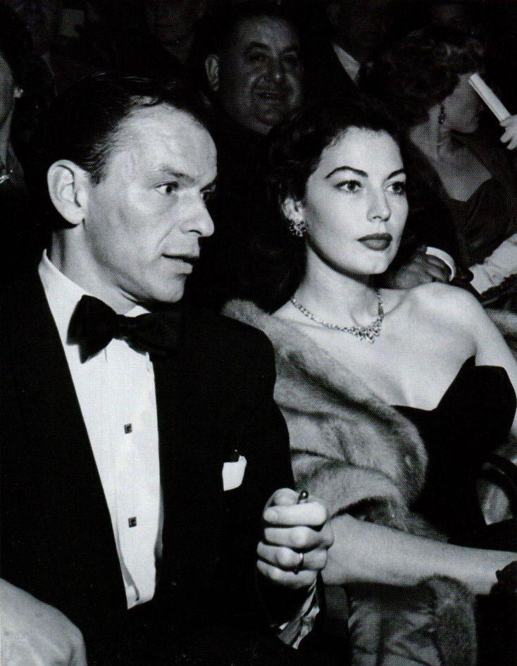Frank Sinatra and Ava Gardner 1950s | V.I.Ps | Pinterest ...