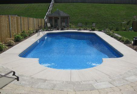 Roman shaped inground pools google search favorite for Kenny pool design