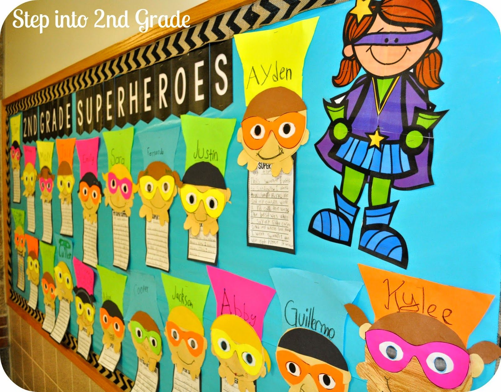 Step Into 2nd Grade With Mrs Lemons Our First Day