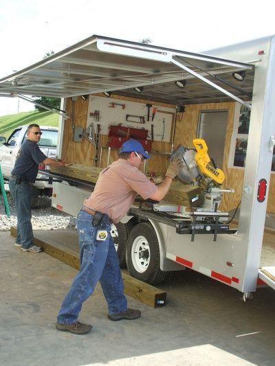 W.O.W. ... what a workshop trailer!: