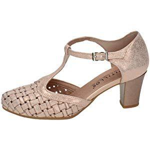 b7bd930a2e9 PITILLOS 5057 Zapatos DE Piel SEÑORA Zapatos TACÓN | peinados en ...