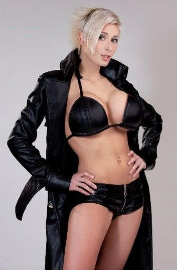 gallery black Marie bourbonnais claude bikini