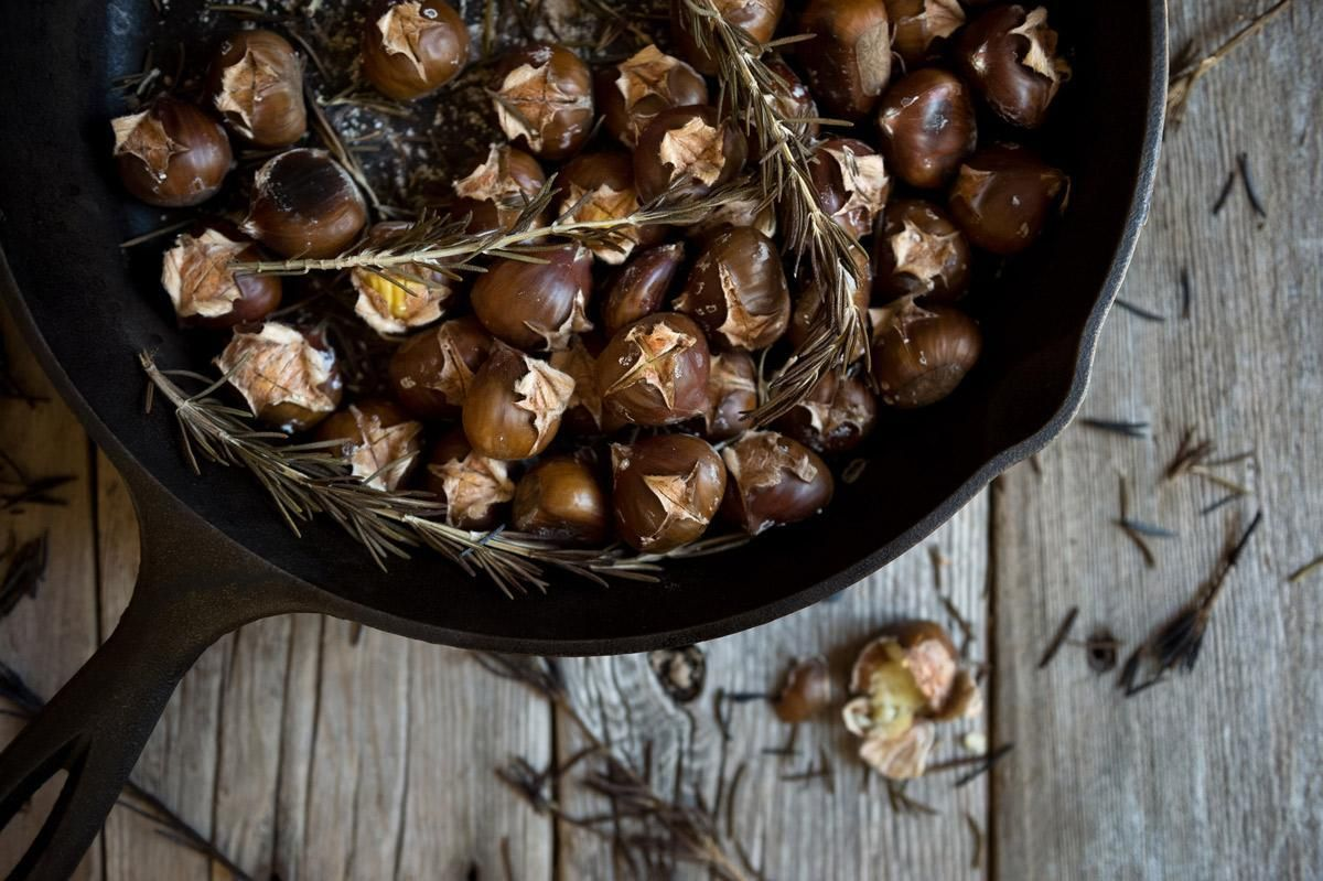How to Roast Chestnuts Without the Open Fire | Roasted chestnuts, Holiday cooking, Food